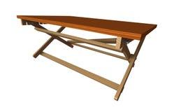 Tabella di legno 1 Fotografia Stock Libera da Diritti
