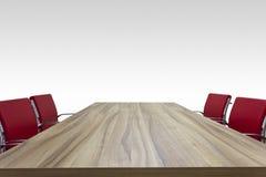 Tabella di legno Immagine Stock Libera da Diritti