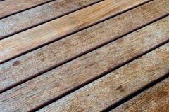 Tabella di legno diagonale (2) Fotografia Stock