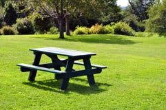tabella di picnic Immagine Stock