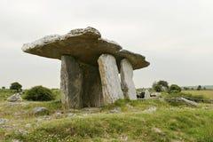 Tabella di pietra celtica Fotografia Stock Libera da Diritti