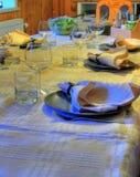 Tabella di pranzo 1 Fotografie Stock Libere da Diritti