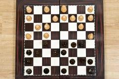 Tabella di scacchi Fotografia Stock
