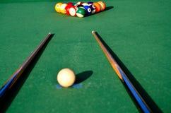 Tabella di snooker Immagine Stock