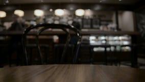 Tabella a fondo vago ristorante archivi video