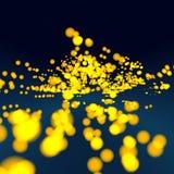 Tabella in galassia Fotografie Stock