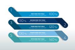 Tabella, modello di progettazione di programma con la fila 5 royalty illustrazione gratis