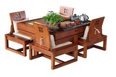 Tabella per cerimonia di tè Immagini Stock