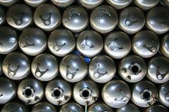 tabella scaldabagni d'acciaio delle caldaie di colagiovanni Fotografia Stock