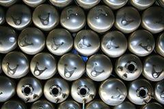 tabella scaldabagni d'acciaio delle caldaie di colagiovanni Immagini Stock Libere da Diritti