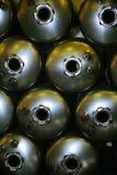 tabella scaldabagni d'acciaio delle caldaie di colagiovanni Fotografia Stock Libera da Diritti