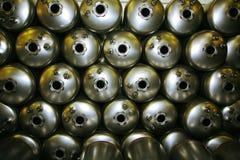 tabella scaldabagni d'acciaio delle caldaie di colagiovanni Immagine Stock Libera da Diritti