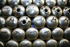 tabella scaldabagni d'acciaio delle caldaie di colagiovanni Immagini Stock