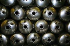 tabella scaldabagni d'acciaio delle caldaie di colagiovanni Fotografie Stock Libere da Diritti