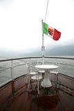 Tabella sulla barca Fotografia Stock