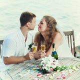 tabellbröllop fotografering för bildbyråer
