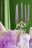 tabellbröllop Royaltyfria Bilder