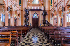 Tabelle der Kirche Lizenzfreies Stockbild