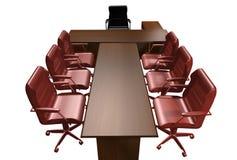 Tabelle des Direktors Lizenzfreie Stockbilder