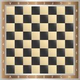 Tabelle des Schachs Lizenzfreie Stockfotos