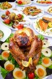 Tabelle diente mit Mahlzeiten