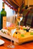 Tabelle in einem japanischen Restaurant Lizenzfreie Stockfotografie