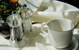 Tabelle für Tee Stockbilder