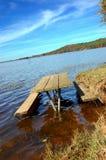 Tabelle im Wasser Stockfotografie