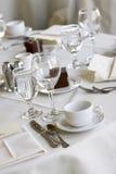 Tabelle pranzanti Wedding Fotografia Stock Libera da Diritti