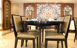 Tabelle und Stühle Lizenzfreies Stockbild