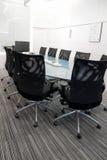 Tabelle und Stühle Stockfotografie
