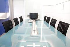 Tabelle und Stühle Lizenzfreie Stockfotografie