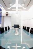 Tabelle und Stühle Lizenzfreie Stockfotos