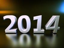 Tabellen 2014 Lizenzfreies Stockfoto