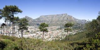 Tabellen-Berg und Kapstadt Lizenzfreies Stockbild
