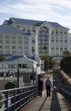 Tabellen-Buchthotel Cape Town Südafrika Lizenzfreies Stockfoto