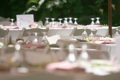 Tabellen-Dekoration Lizenzfreie Stockfotografie