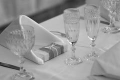 Tabellen-Dekoration Lizenzfreie Stockbilder