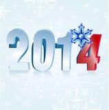 Tabellen 2014 Eis Lizenzfreie Stockfotos