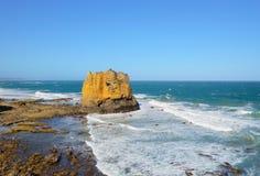 Tabellen-Felsen in Eagle Point Marine Sanctuary Lizenzfreies Stockbild