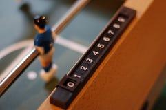 Tabellen-Fußballspieler Lizenzfreies Stockfoto