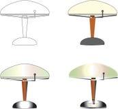 Tabellen-Lampen Stockfotos