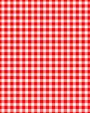 Tabellen-Tuch-Muster Stockfoto