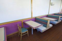 Tabellen und Stühle Lizenzfreies Stockbild