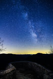Tabellen vaggar Vintergatan arkivfoto