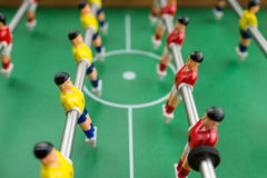 Tabellenfußball Lizenzfreies Stockfoto