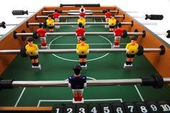 Tabellenfußballspiel stockfoto