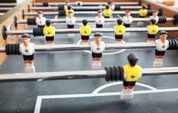 Tabellenfußballspiel Lizenzfreie Stockfotografie