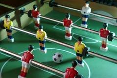 Tabellenfußballschuß Lizenzfreie Stockbilder