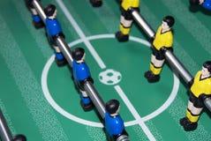 Tabellenfußballspieler Stockfoto